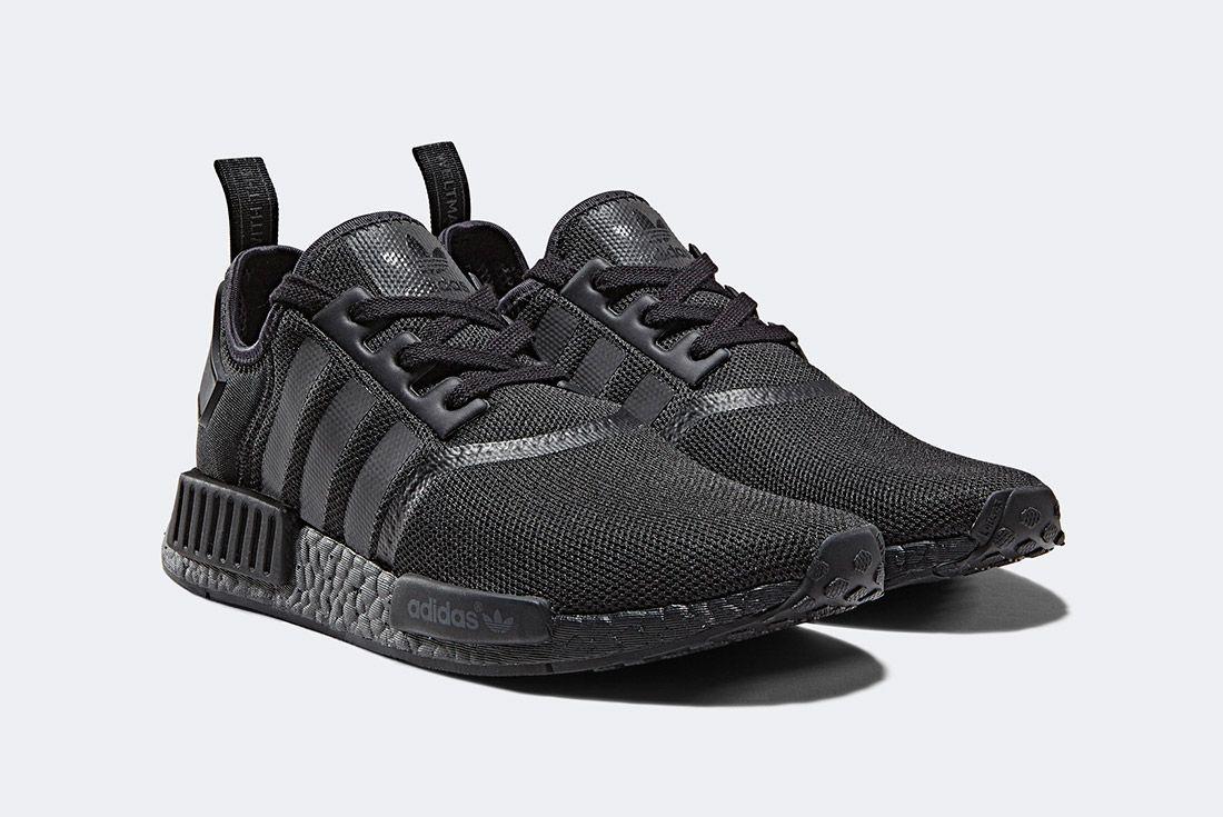 Adidas Nmd R1 Triple Black 1