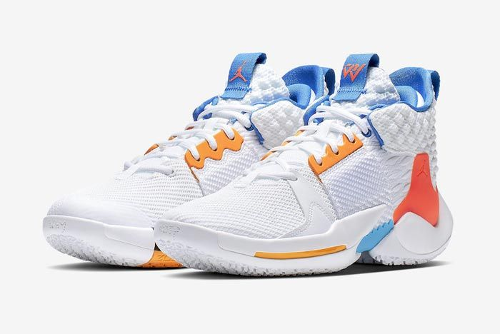 Jordan Why Not Zer02 Okc Home Pair