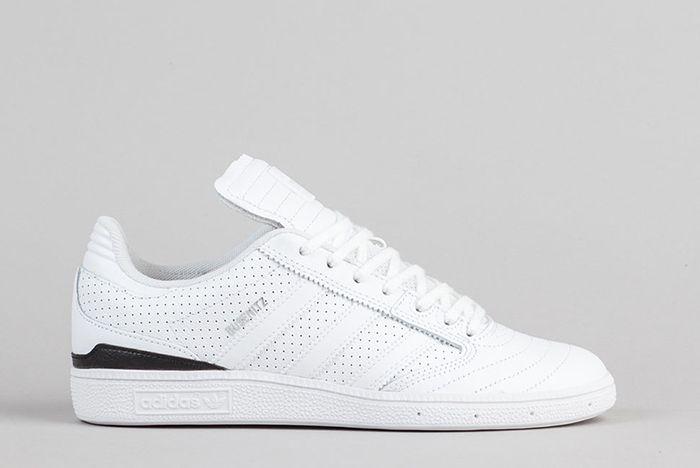 Adidas Busenitz Classified Shoes Ftw White Core Black Silver Metallic 1