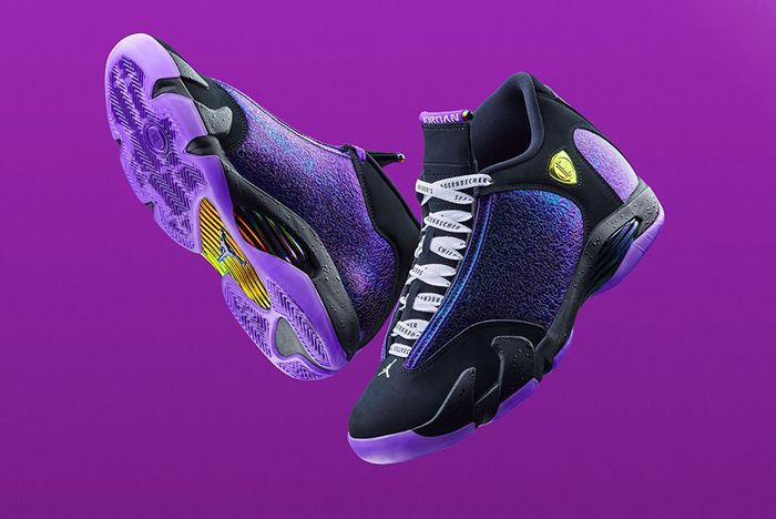 Nike Doernbecher Air Jordan 14 Retro Front Full