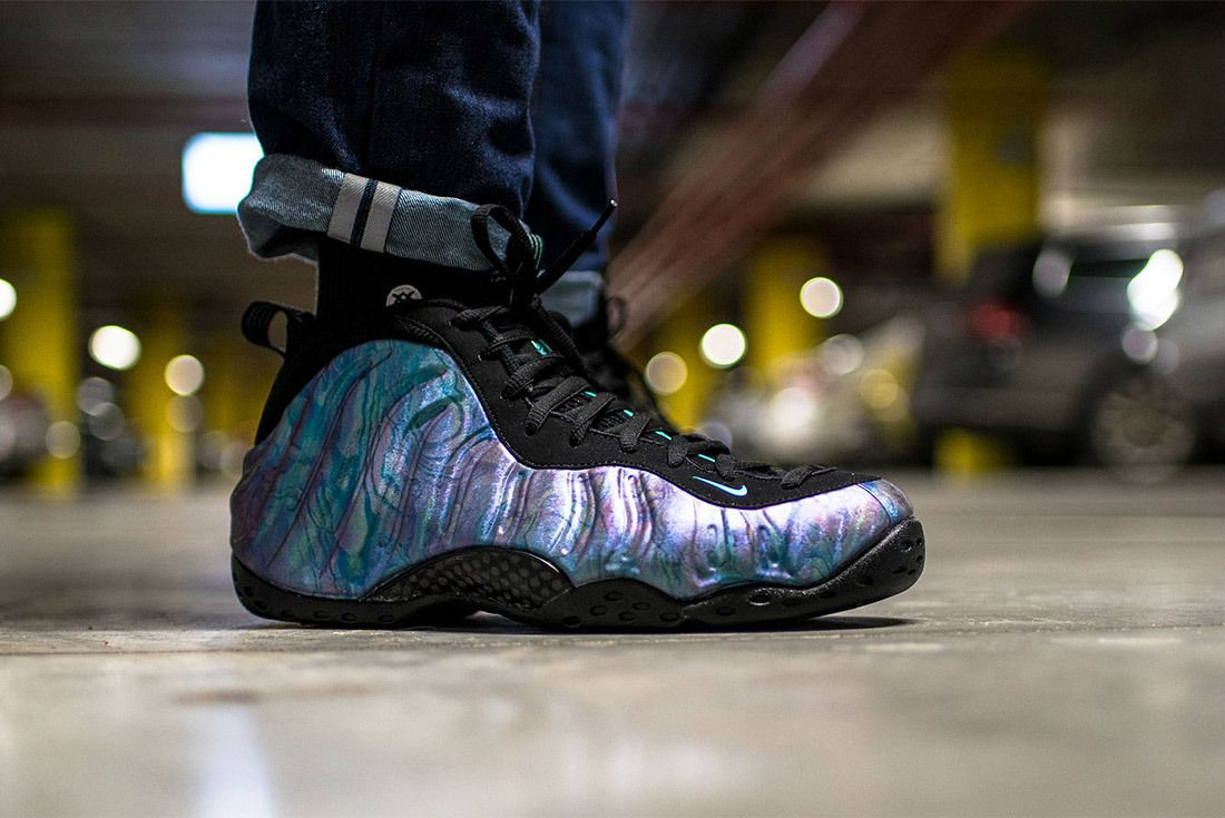 Nike Air Foamposite One Aurora Green Sneaker Freaker 2