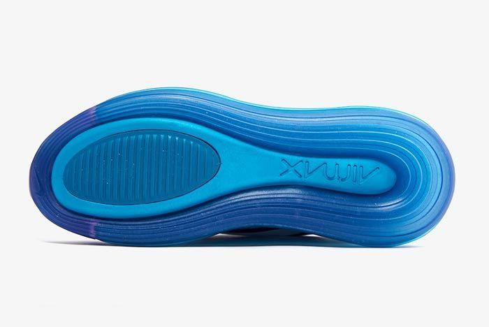 Nike Air Max 720 Spirit Teal Womens Outsole
