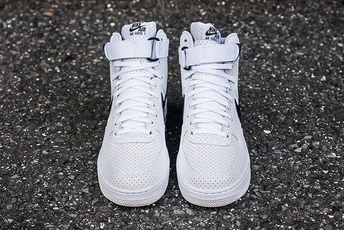 Nike Air Force 1 High Perf White Black 8