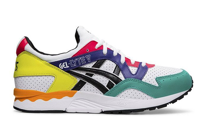 Asics Gel Lyte V Multi Color Leather Right