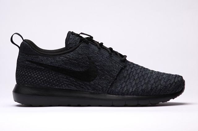 Nike Flyknit Rosherun Black Black1