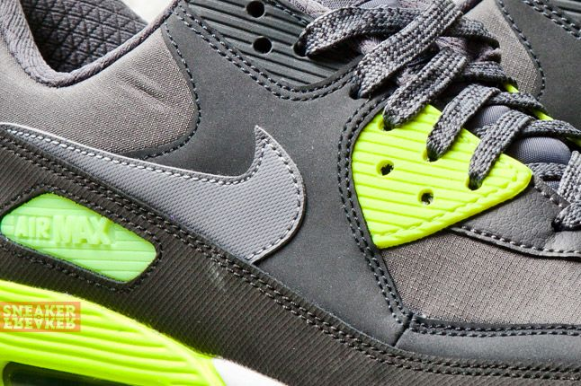 Nike Air Max 90 Essential Cool Grey Volt 2 Det