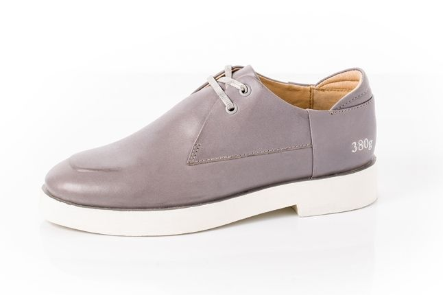 380G Carin Wester Grey Leather Profile 1