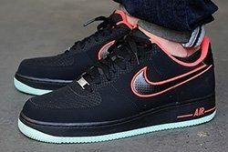 Nike Air Force 1 Low Laser Crimson Arctic Green 1