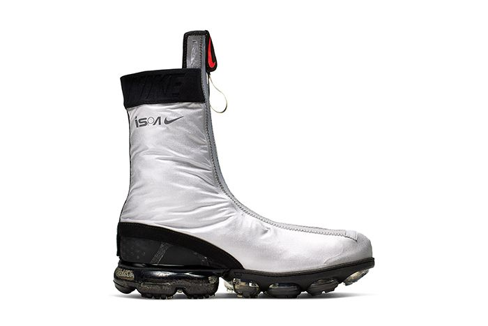 Nike Vapormax Gator Ispa Silver Ar8557 001 Release Date Medial
