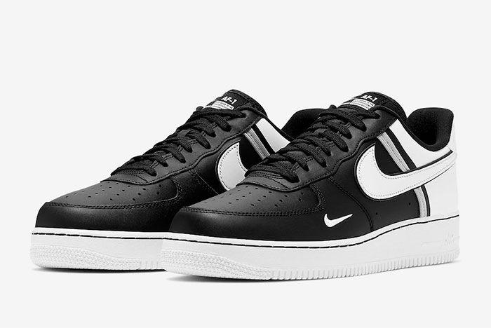 Nike Air Froce 1 Low 07 Lv8 Black Toe