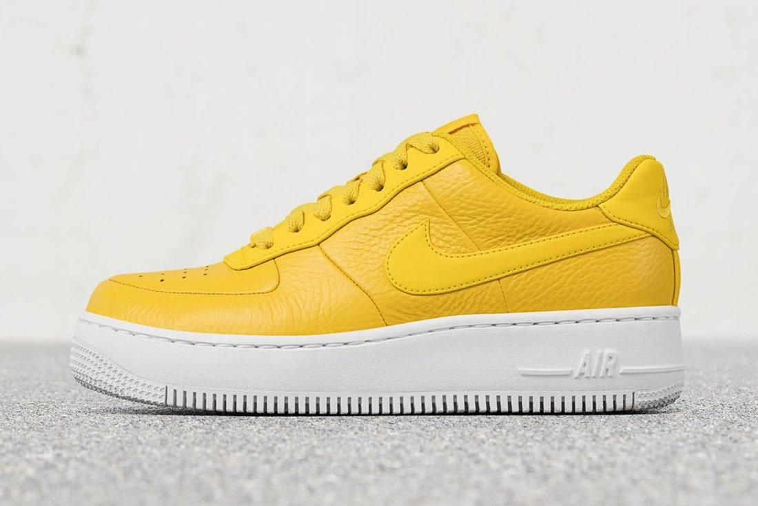 Nike Air Force 1 Upstep Bread Butter 7