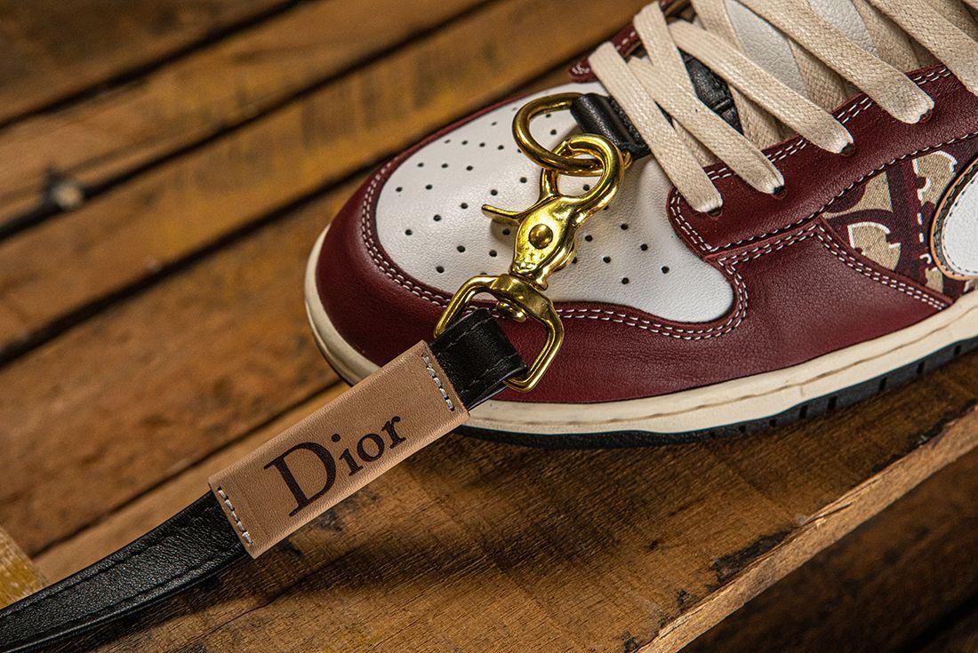 BespokeIND Nike Air Jordan 1 SB Dunk Dior Toe Box