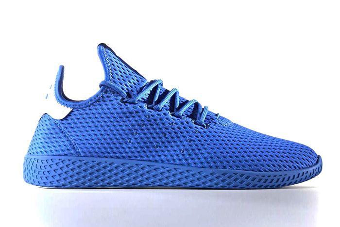 Pharrell Williams Adidas Tennis Hu Blue