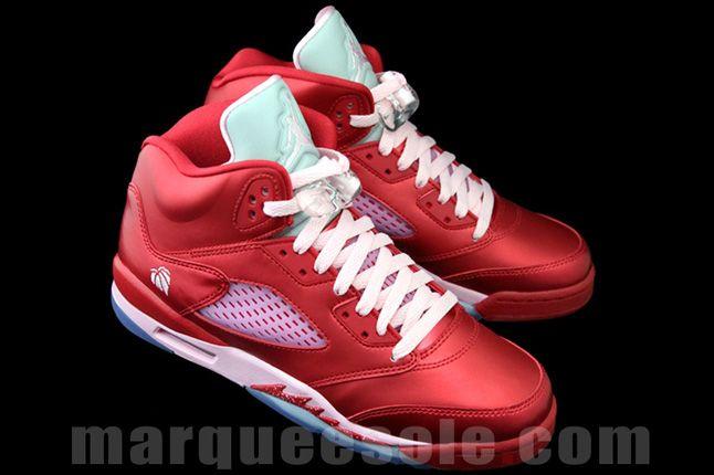 Air Jordan 5 Gs Valentines Day Pair 1