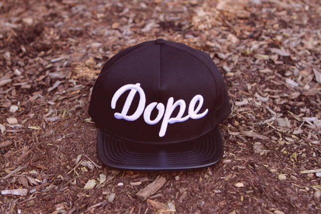 Kith X Stampd Just Dope Capsule Collection White Dope Hat 1