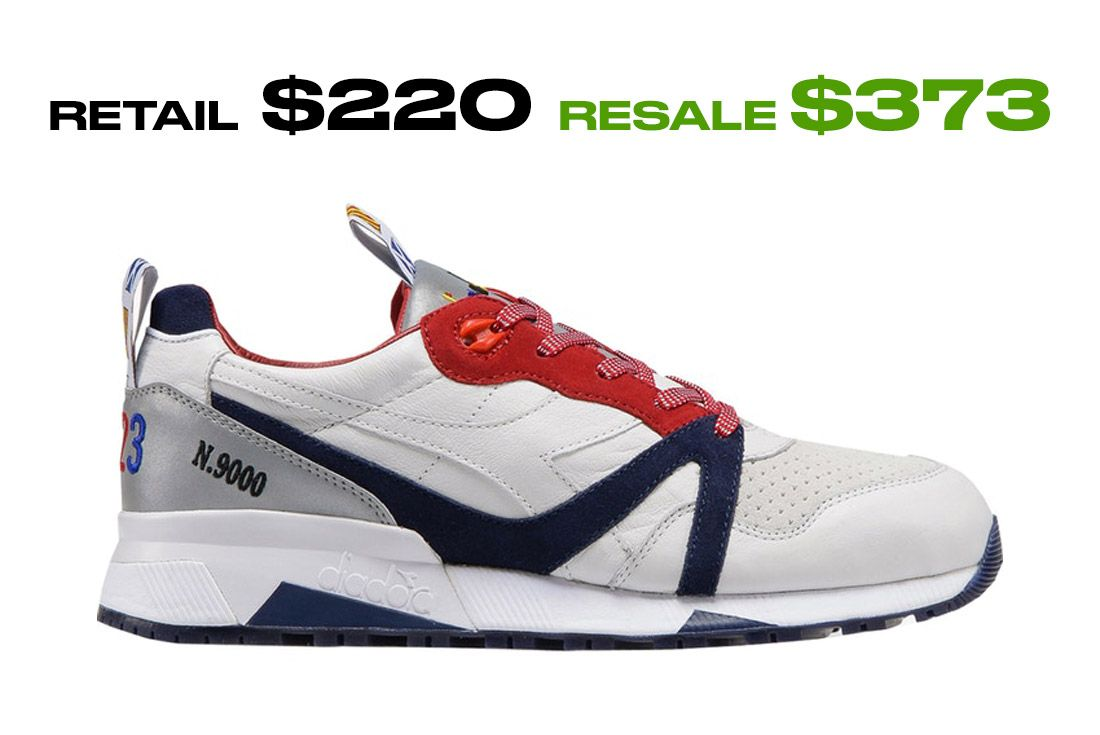 Stockx Resale Diadora N9000 Sailing Right Side Shot