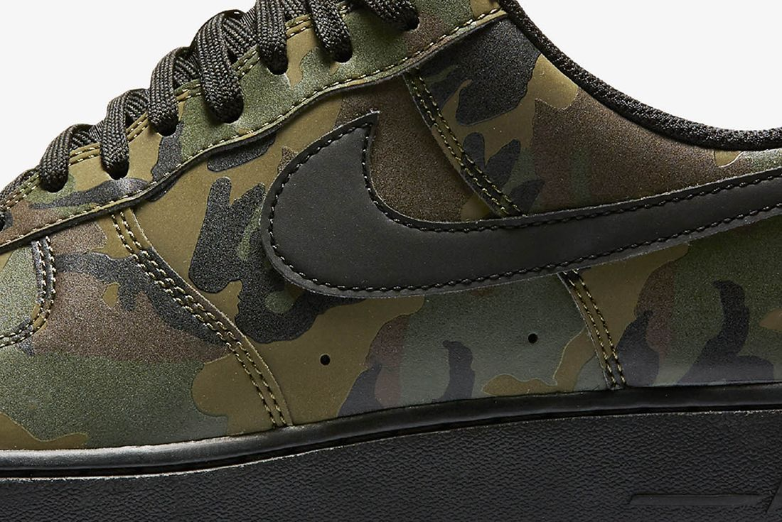 Nike Air Force 1 Camo Reflective 7