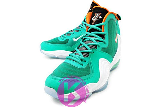 Nike Air Penny 5 Miami Dolphins 01 1