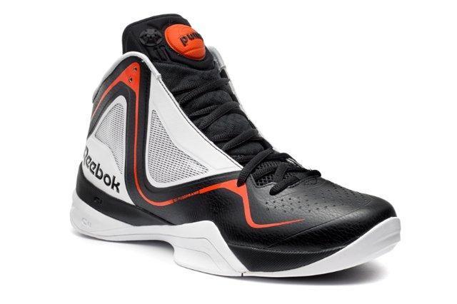 Reebok Basketball Black Pumpspective
