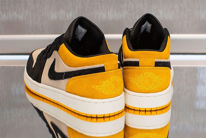 Jordan 1 Yellow Low 2