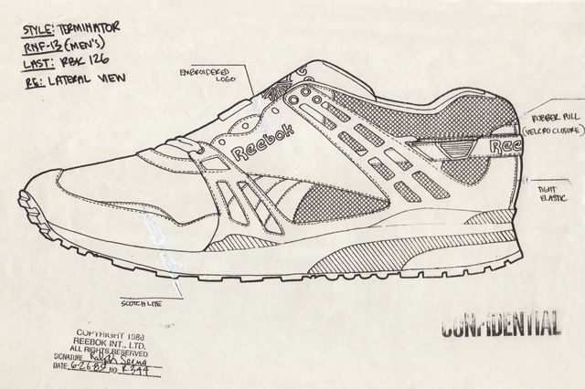 Reebok Ventilator Design