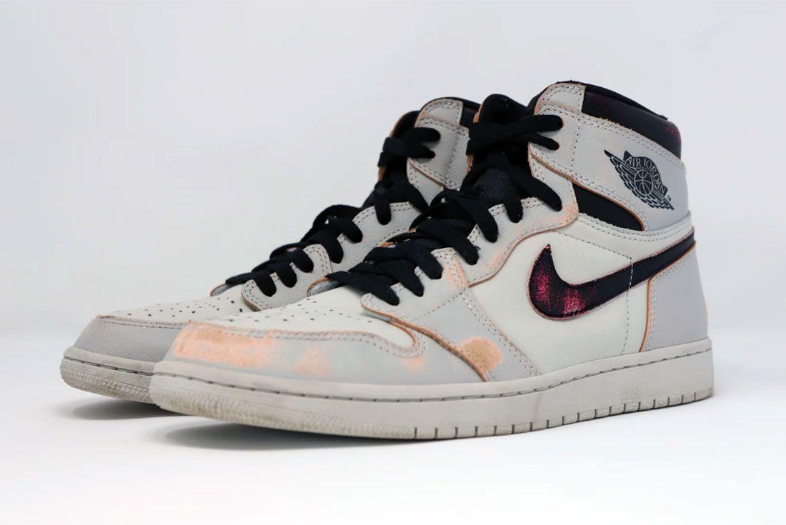Nike Sb X Air Jordan 1 Nyc To Paris Three Quarter Lateral Side Shot