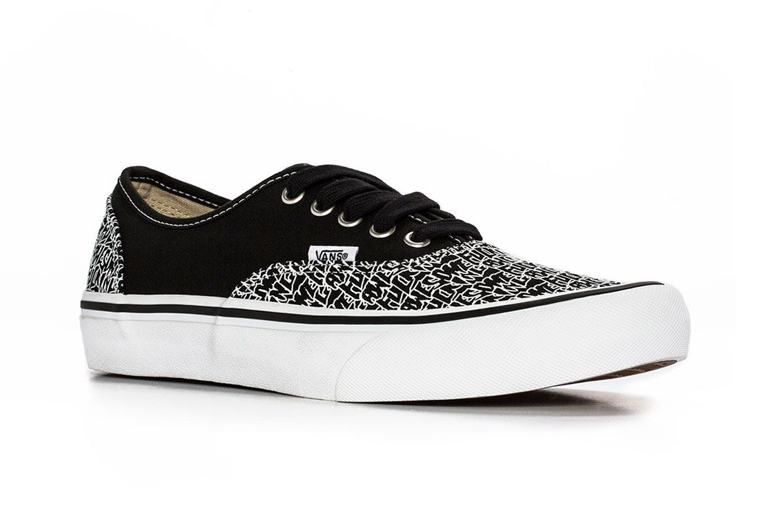 Fucking Awesome Vans Authentic 5 Black Side