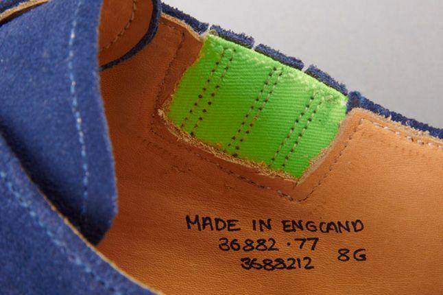 Garbstorexgrenson 2012 Fall Winter Monk Shoe Blue Details 1