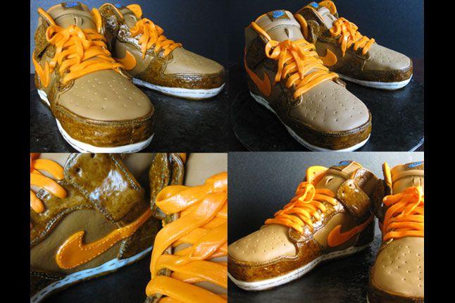 Sneaker Freaker Sneaker Cakes The Thing Dunk 1