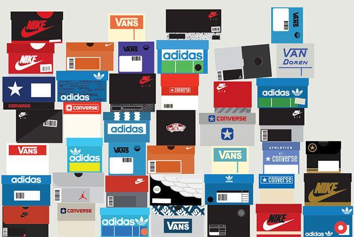 Sneaker Boxes Assorted 1500 Sneaker Freaker