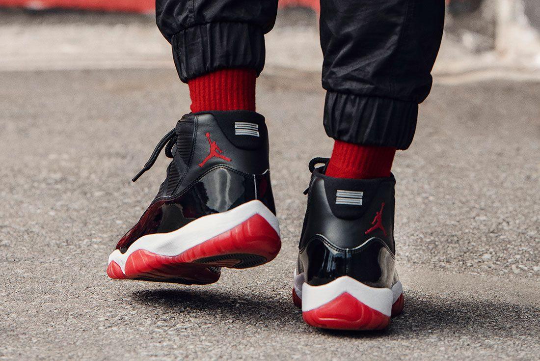 Air Jordan 11 Bred Jd Sports Hero Shots7