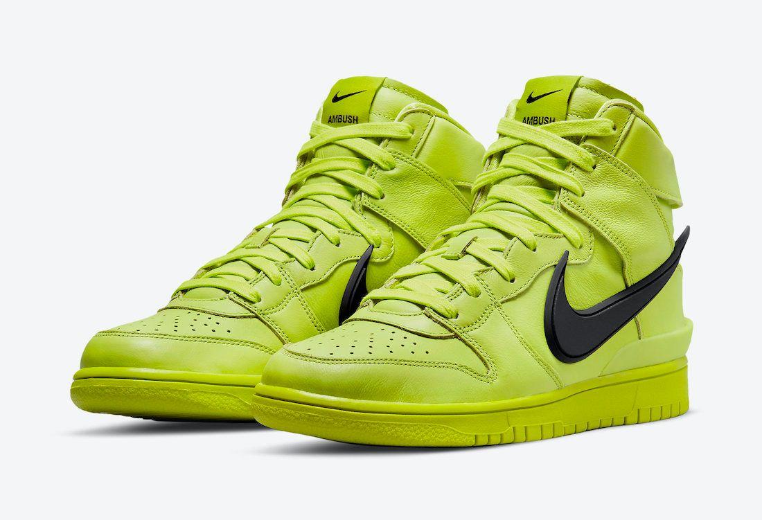 Ambush-Nike-Dunk-High-Flash-Lime-