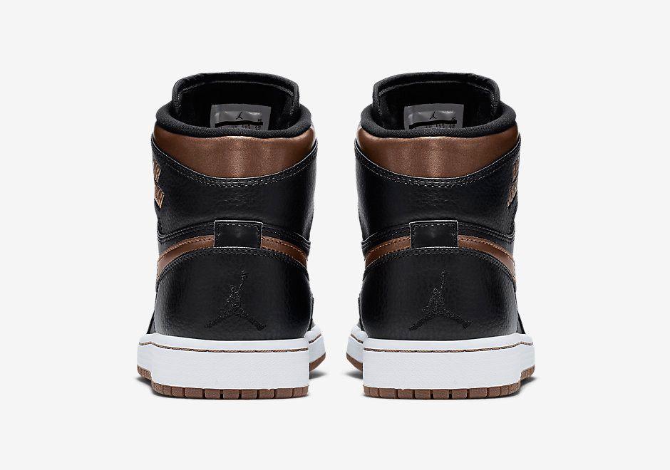 Air Jordan 1 Rare Air Black Bronze 4