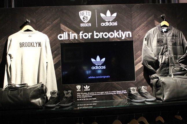 Adidas Party Brooklyn Store Display 1