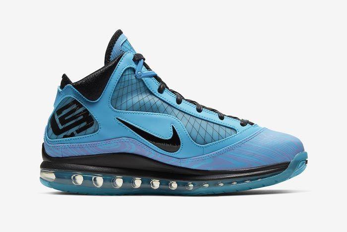 Nike Lebron 7 All Star Chlorine Blue Medial
