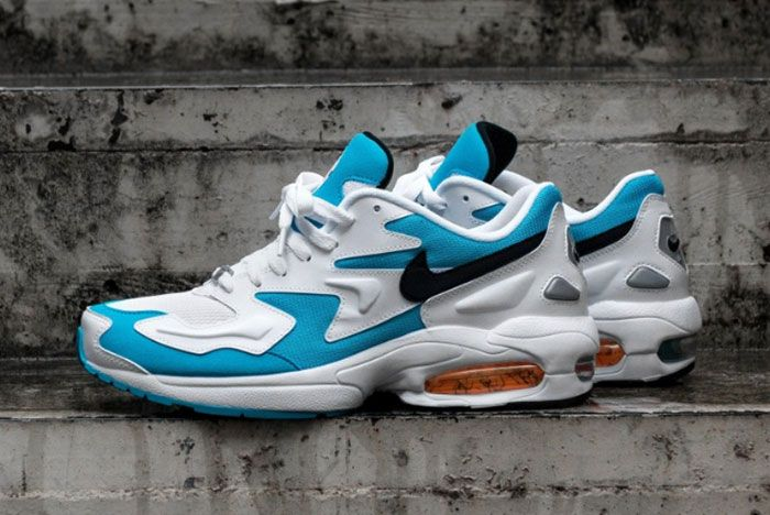 Nike Air Max2 Light Blue Left