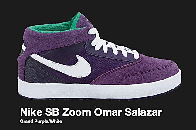 Nike Grand Purple Sb Zoom Omar Salazar 2010 1