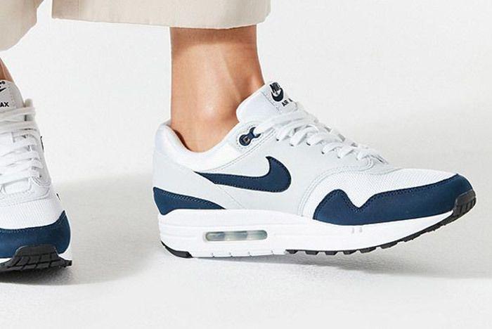 Nike Air Max 1 White Blue 3