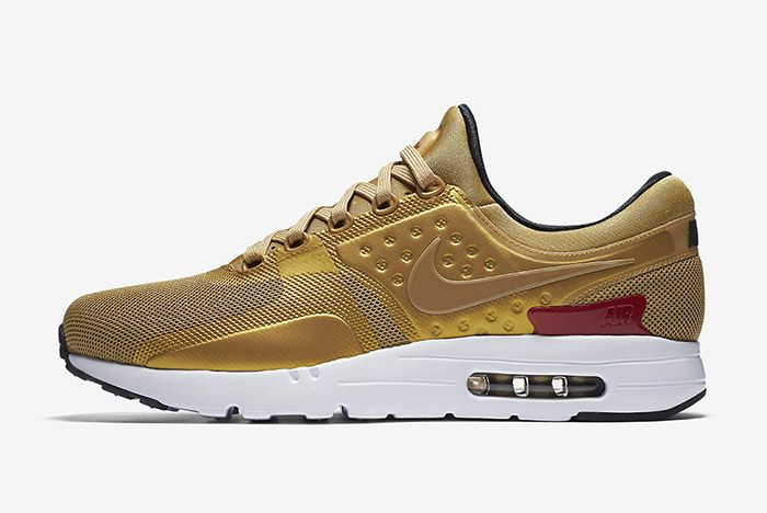 Nike Air Max Zero Metallic Gold 5