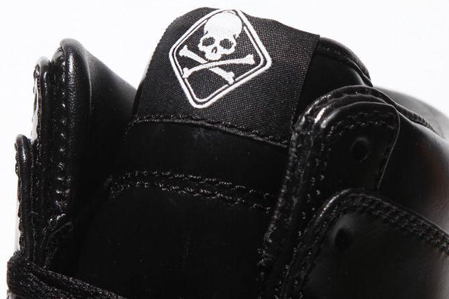 Mastermind Japan Nike Dunk Hi Black Tongue Detail 1