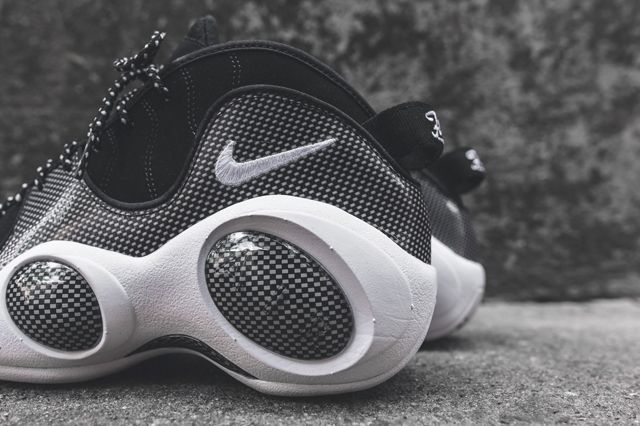 Nike Air Zoom Flight 95 Se Black Metallic Silver 4
