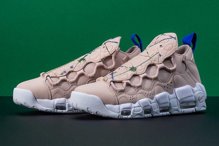 Nike Air More Money Snake Green Splatter 3