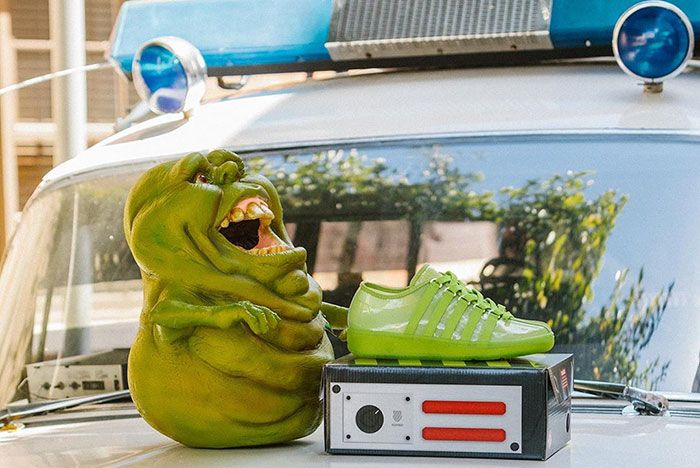 K-Swiss Calls Ghostbusters for Foot