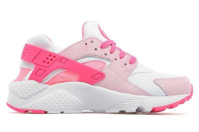 Nike Air Huarache Gs White Pink Pow 04