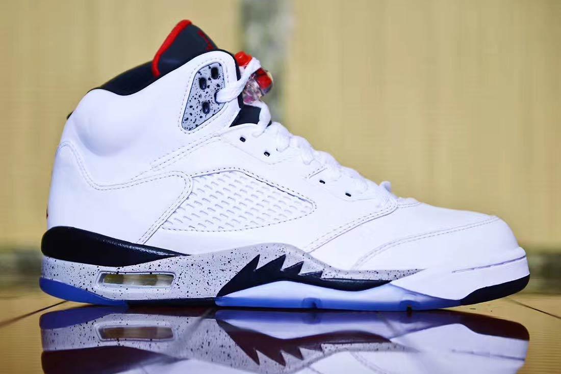 Air Jordan 5 Whitecement 5