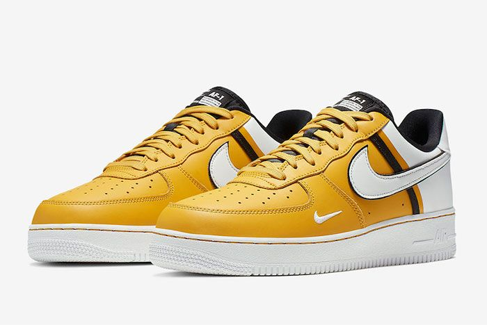 Nike Air Froce 1 Low 07 Lv8 Yellow Toe