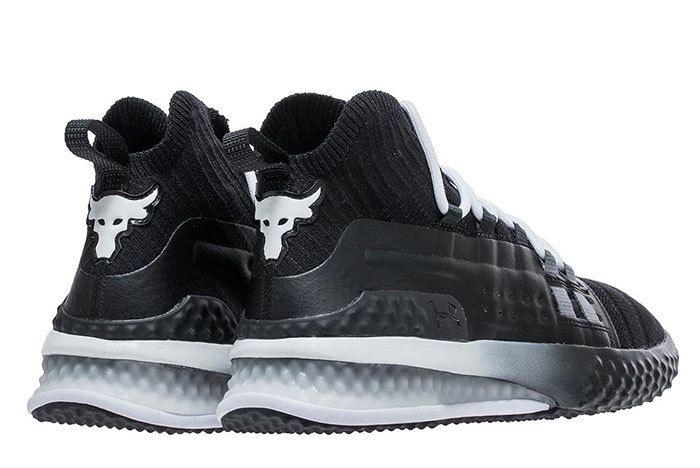 Ua Project Rock 1 Black White 1 Sneaker Freaker