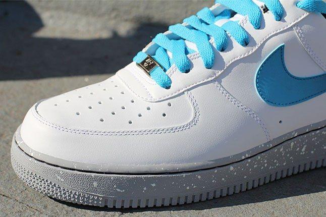 Nike Air Force 1 Blue White 1