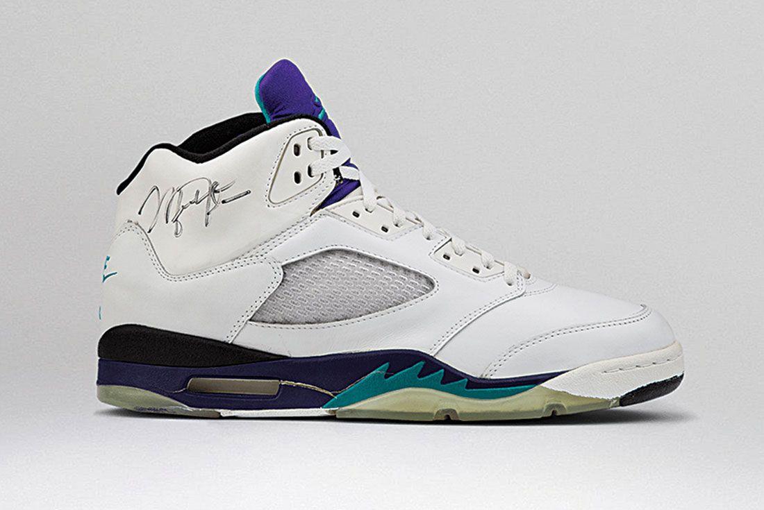 Air Jordan 5 White Grape