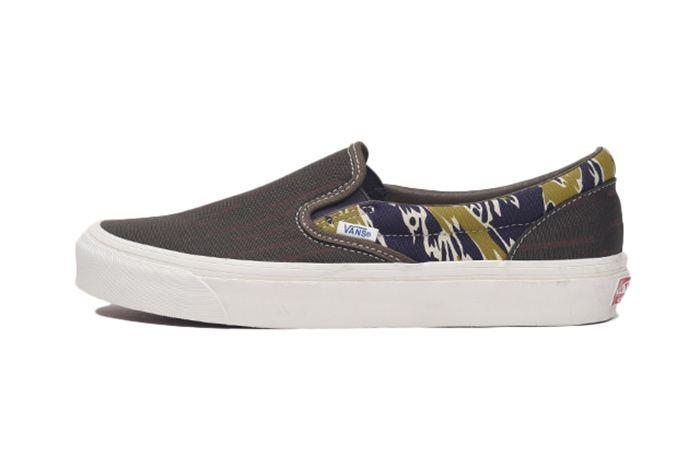 Vans Camo Slip On Side